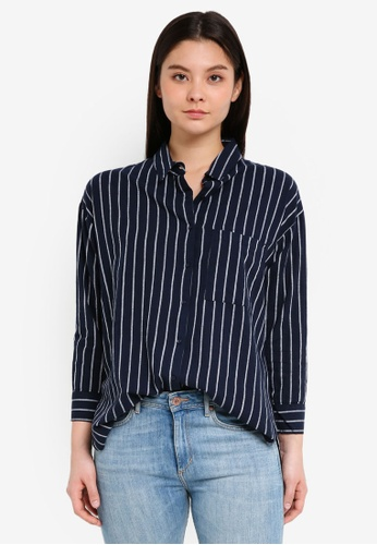Cotton On multi and navy Millie Shirt A3F98AA45A4CDEGS_1