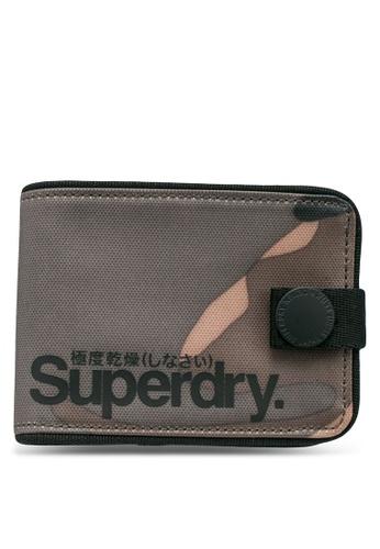 SUPERDRY multi Tarp One Popper Wallet B3FA4ACE4DE4F7GS_1