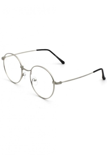 Dandelion pink Round Vintage Nose Bridge Blue Light Filtered Glasses 6E76AGLF7AD578GS_1