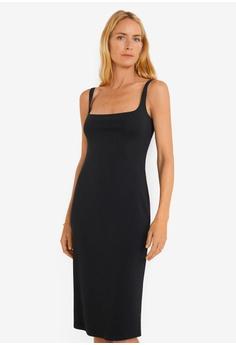 1730e4bad64 Mango black Cut-Out Bodycon Dress BE577AA80899D2GS 1