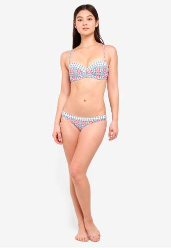 fcb0fe2430f62 Buy Dorothy Perkins Ivory Mix Match Bikini Brief Online on ZALORA Singapore