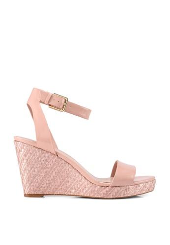 ALDO pink Unaliviel Open Toe Wedge Heels 3E31BSH29C32D6GS_1
