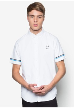 Oxford Varsity Short Sleeve Shirt
