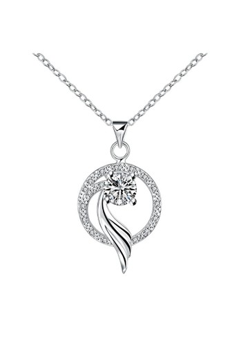 Tiaria white Tiaria Gold Plated NecklacePendant Fashion SPN075--K09 29383AC2F97B3FGS_1
