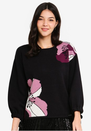 ESPRIT black Long Sleeve Sweatshirt 896A4AAACA31A5GS_1