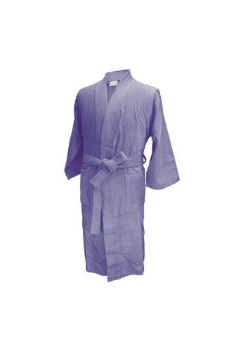 Charles Millen Charles Millen Bathrobe Kimono Style ( light weight, Stylish Robe ). 4E9EDHLE1DE3B9GS_1