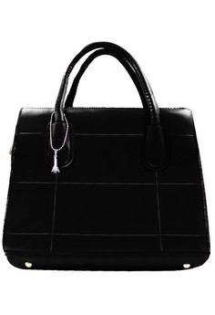 Cyril Leather Shoulder Bag