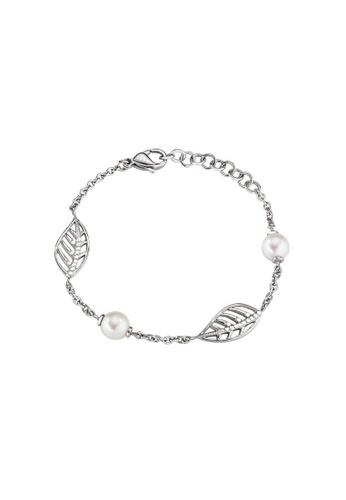 Morellato silver Morellato Foglia Steel Pearls Crystals Ladies Bracelets SAKH18 4FFBAAC8BB1152GS_1