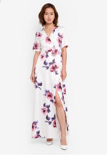 Megane white Red Romance Angilia Maxi Dress ME617AA0SZWPMY_1