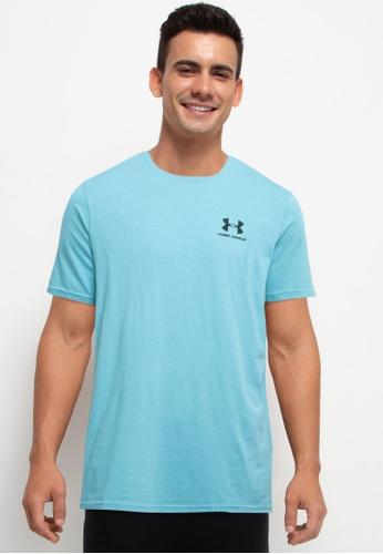 Under Armour 藍色 Sportstyle Left Chest Short Sleeve Tee E1AB1AA2D30908GS_1