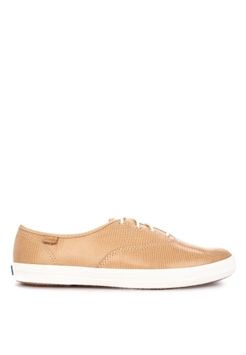 79d614d0be513 Shop Keds Champion Pretty Leather Sneakers Online on ZALORA Philippines