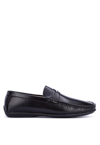 Mendrez black Peter Loafers & Moccasins 04773SH11AFA87GS_1