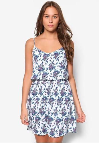 Roselea 層次esprit 品牌細肩帶小洋裝, 服飾, 洋裝
