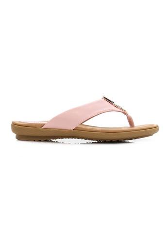 BNC pink Slide Sandal 3FE84SH32D3D18GS_1