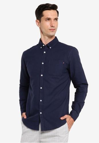Cotton On navy Brunswick Shirt 3 D7E6CAA743C920GS_1