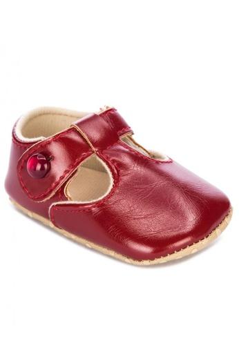 RAISING LITTLE red Classic Tbar/Tbar Shoes B871EKS963AEEAGS_1