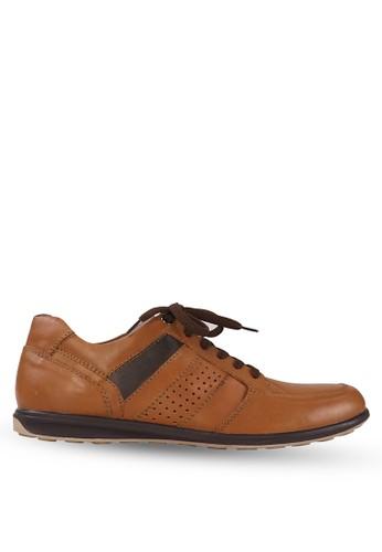Tony Perotti brown Tony Perotti Sneakers Andreas - Brown TO890SH0VND2ID_1