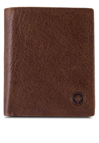 Lumberjacks brown Lumberjacks Genuine Leather Wallet LU545AC82PCFMY_1