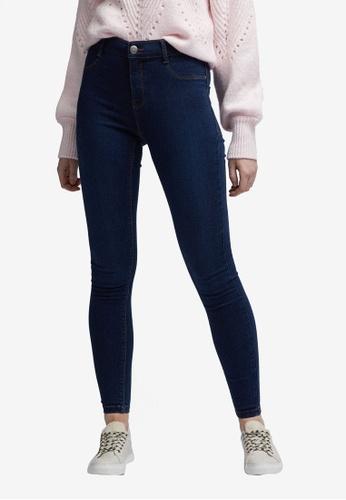 Dorothy Perkins blue Indigo Frankie Jeans 7E881AAFE36E21GS_1