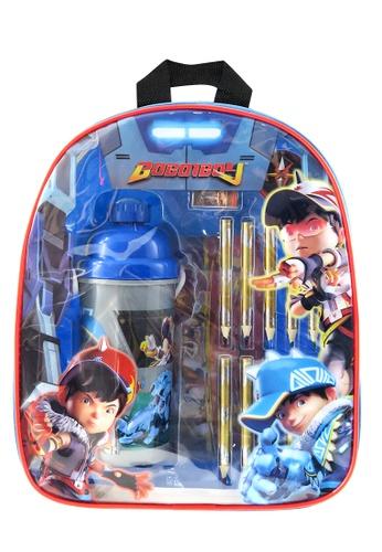 Boboiboy Boboiboy Fushion Kids Backpack With Stationery Set DF2D6KC0F65B17GS_1