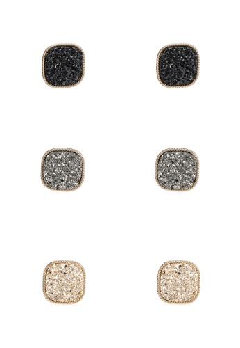 ALDO black Adrollan Pierced Earrings 33DE6ACC544198GS_1