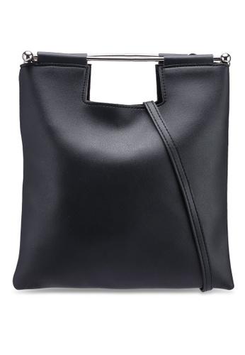 Berrybenka black Stina Octa Top Handle Bag E1962ACEB6FDA1GS_1