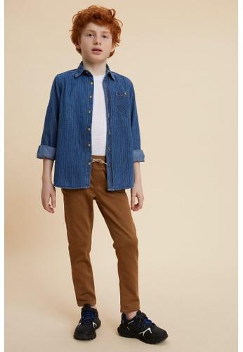 DeFacto brown Boy Woven Trouser 44083KAD04F7D7GS_1