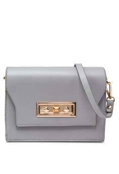 Modern Lock Crossbody