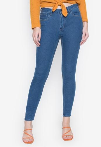 RRJ blue Basic Skinny Jeans 263D0AAC01E39AGS_1