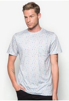 Printed Artisit Polka T-Shirt