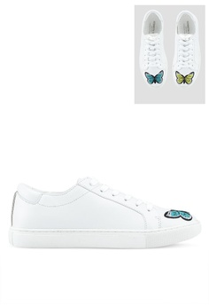 dcaac3445fe69c Kenneth Cole white Kam Butterfly Sneakers 6E4C1SHA698432GS_1