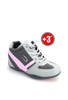 Women's Low Cut Sports Shoes With Hidden Wedge