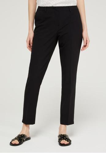 Sisley black Regular Fit Trousers 7B2AFAAE13653DGS_1