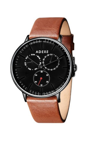 ADEXE Watches brown ADEXE Watches THEY Men Leather 74D35ACFD69348GS_1