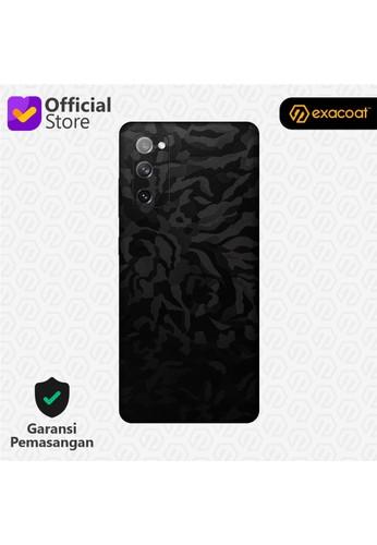 Exacoat Galaxy S20 FE Skins Camo Series - Black Camo 471C7ES7E26398GS_1