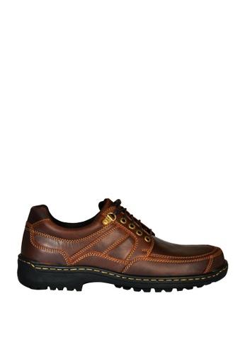 Hush Puppies brown Pierre Horton Casual Shoes D744CSH2DC7148GS_1