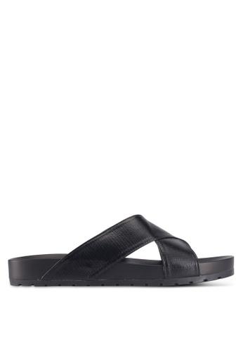 Bata 黑色 Bata Casual Sandals 2A659SHE223D76GS_1