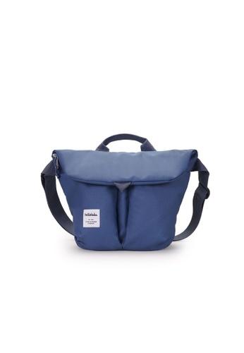 Hellolulu blue Hellolulu Kasen Shoulder Bag (Smoke Blue) 2049CAC02EE49DGS_1
