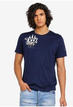 5a3b873e9 AiNTFAKE navy Casual Jurassic World Licensed T-Shirt 32378AA6AC80D9GS_1