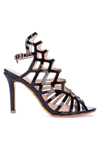 e6762b18221f Shop Rock Rose Gladiator Sandals with Heels Online on ZALORA Philippines