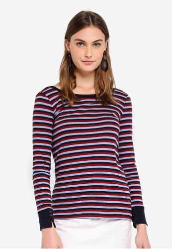 ESPRIT navy Long Sleeve T-Shirt 08867AA78687F6GS_1