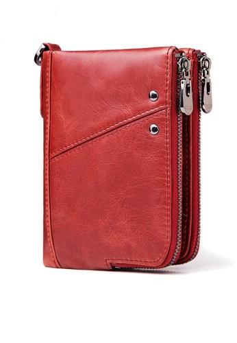 Twenty Eight Shoes Vintage Genuine Leather RFID Security Multifunctional  Wallet BP852 9FCFCAC23B6DA6GS_1