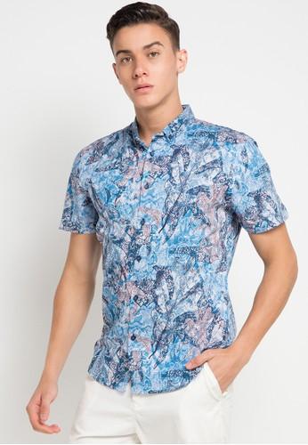 MOC blue BITONTO-BLUE Shirt 50E6EAA4CAC281GS_1