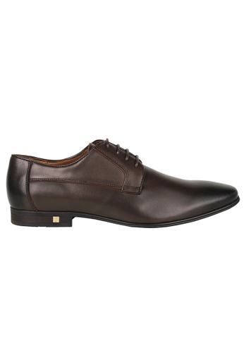 Tomaz brown Tomaz F184 Lace Up Formal (Coffee) 88CB9SHAC5053FGS_1