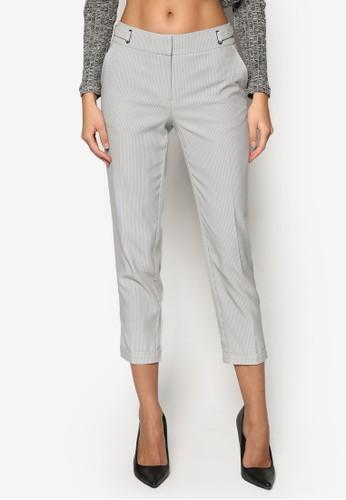 細條紋九分褲, 服zalora鞋飾, 九分褲
