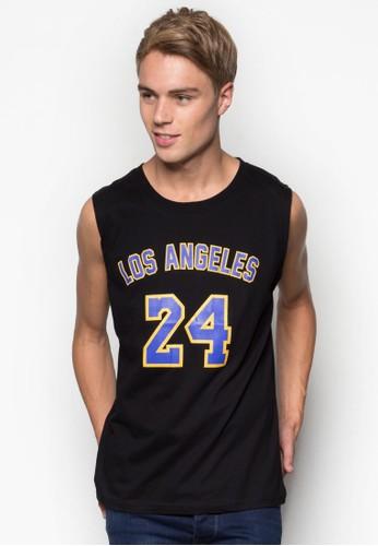 Losesprit衣服目錄 Angeles #24 籃球風背心, 服飾, 服飾
