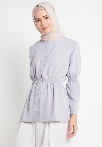Meemaa Style grey Sania Top 843C5AA627197BGS_1