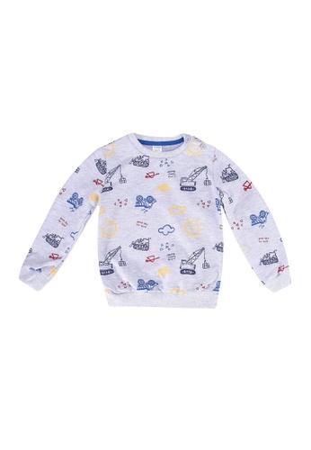 LC Waikiki navy Printed Sweatshirt 6ADF5KA19D31A6GS_1