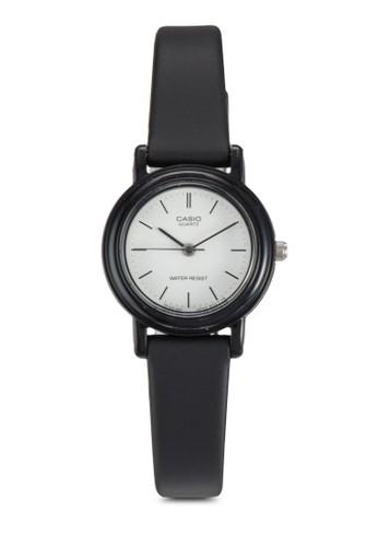 LQ-139BMV-7ELDFesprit 請人 三指針皮革錶, 錶類, 飾品配件