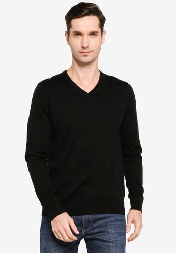 GAP 黑色 Merino Sweater 5CA38AAA46B811GS_1